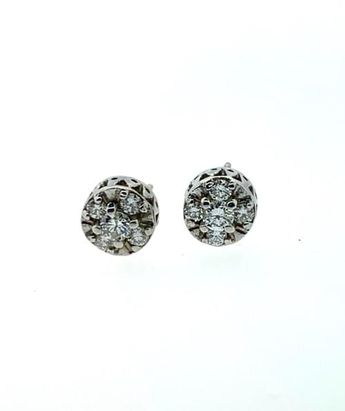 Button Cluster Studs