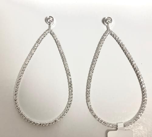 Large Oval Style Earrings