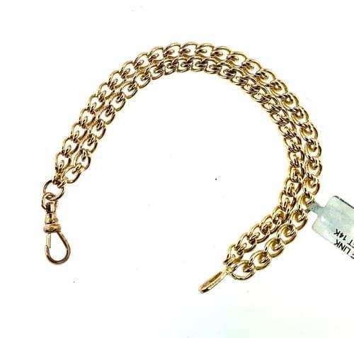 Vintage Double Chain Bracelet
