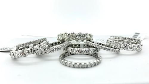 DIamond Wedding Bands - Prices Vary