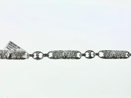 Antique Diamond Bracelet