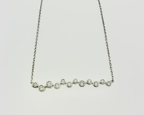 Diamond Bar Necklaces