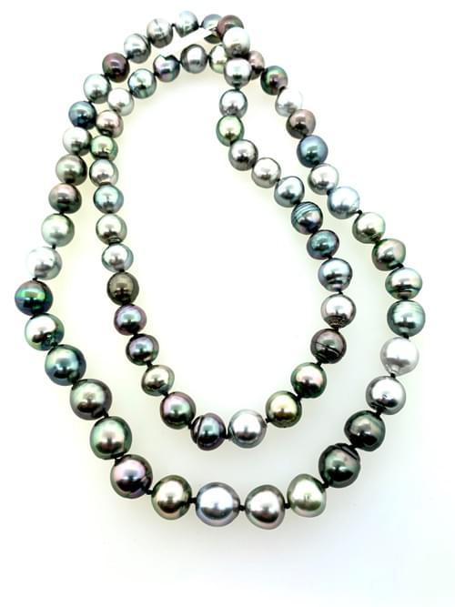 Multi- Colored Dark Tahitian Pearls