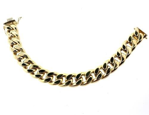 Curb Link Design Bracelet