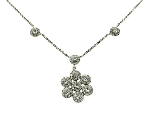 Combined Cluster Necklace