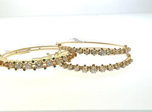 Vintage Diamond Bangles