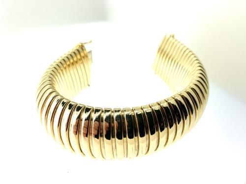 Thick Gold Estate Bracelet