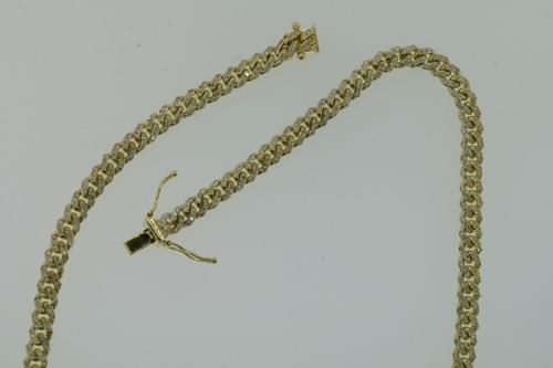 Diamond Encrusted Cuban Link Necklace