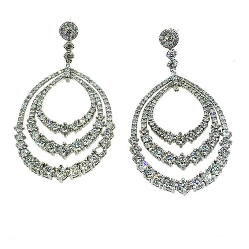Formal Diamond Earrings