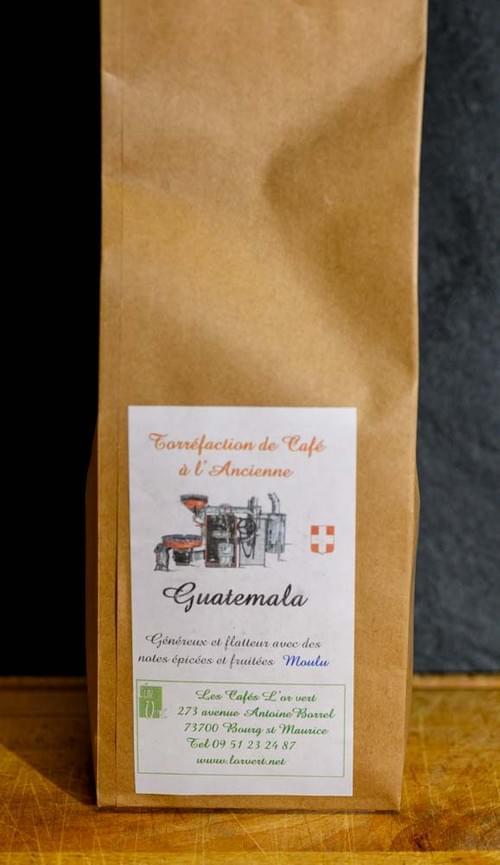 Café moulu - L'OR VERT