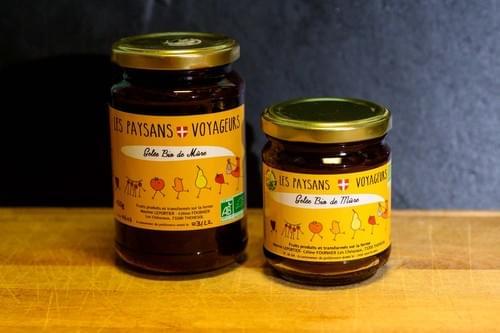 Confiture Fermière Bio  - LES PAYSANS VOYAGEURS