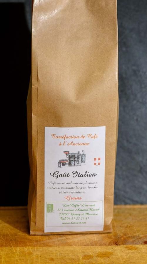 Café grains - L'OR VERT