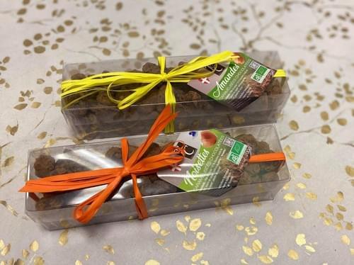 Amandes / Noisettes caramélisées chocolatées - BIO - TARTINE CHOCOLAT