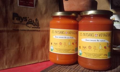 Sauce tomate BIO - LES PAYSANS VOYAGEURS
