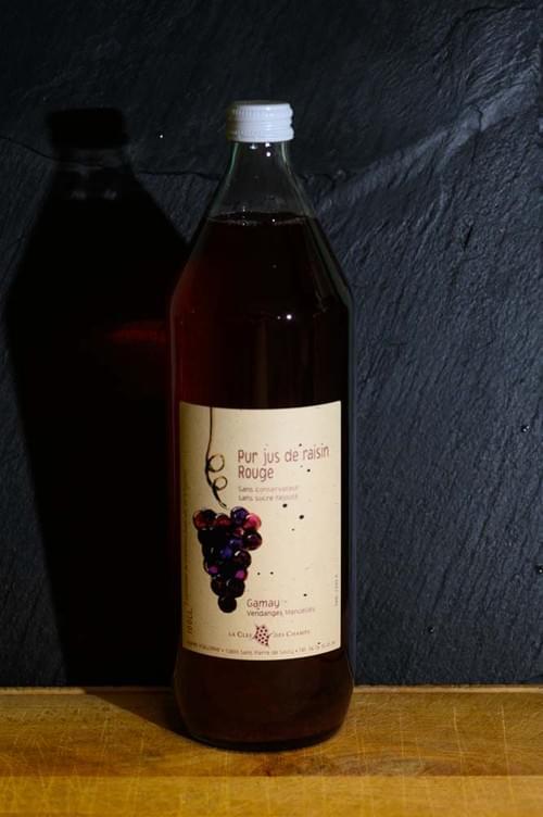Jus de raisin rouge - LA CLE DES CHAMPS