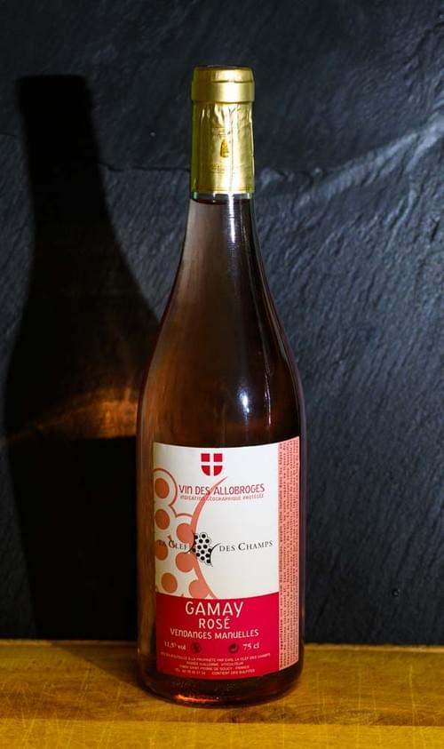 Gamay rosé - LA CLE DES CHAMPS