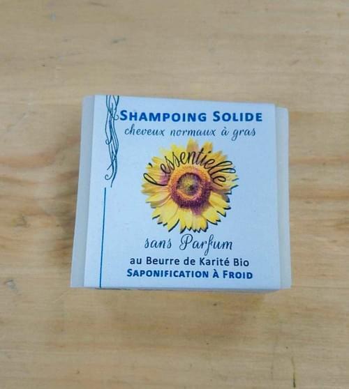 Shampoing solide - SAVONNERIE L'ESSENTIEL