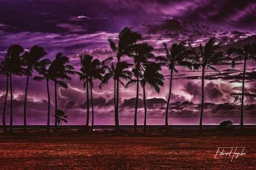Lightning Surf (landscape)