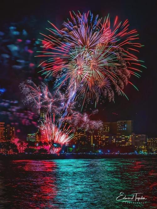 Aloha Friday Fireworks