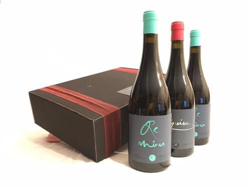 2 Botella ReMinor 2018 + 1 Botellas Réquiem 2017