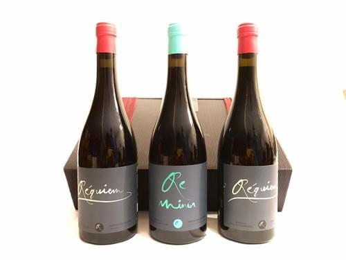 2 Botellas Réquiem 2017 + 1 Botella ReMinor 2018