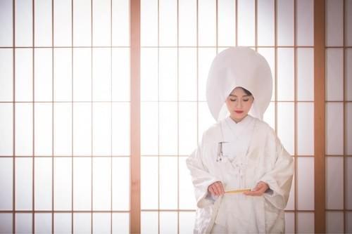 新娘造型|白無垢 綿帽子 (加價項目)