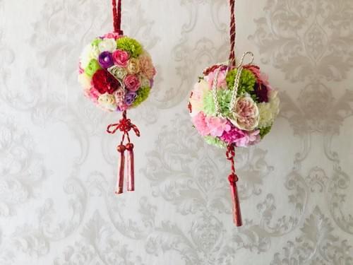 日式花球訂製