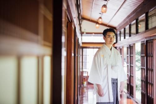 高級雙人和服婚紗照攝影-色打掛/白無垢  (台北紀州庵)