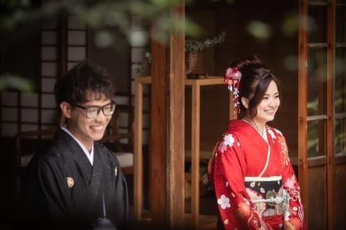 高級雙人和服婚紗照攝影-振袖VIP (北投文物館)