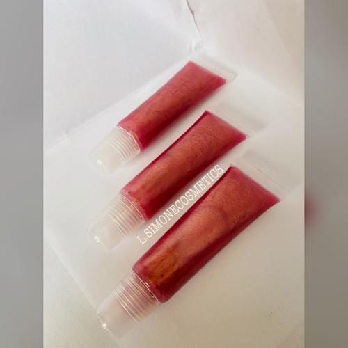 Sparkling Pink Champagne Lipgloss (15ml)