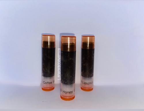Coffee & Honey Lipscrub