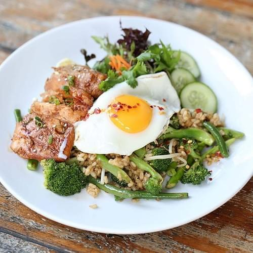 NASI GORENG WITH TAMARI CHICKEN - GF, DF