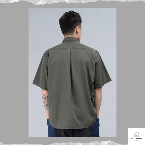 PRTH防潑水寬短袖恤衫