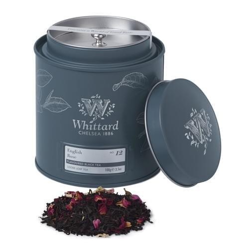 Whittard English Rose Loose Leaf Tea Caddies