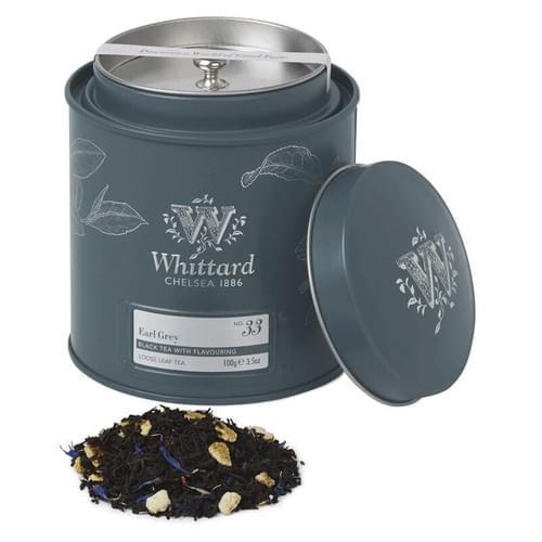 Whittard Earl Grey Loose Leaf Tea Caddies