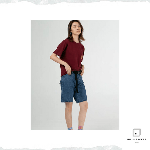 PRTH經典復古中腰短褲