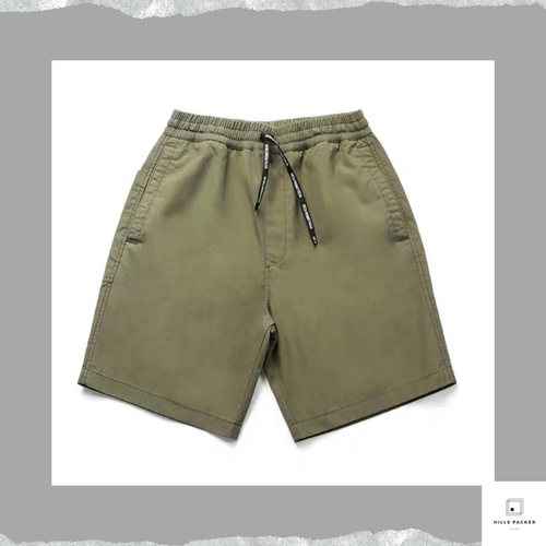 PRTH夏季戶外潑水橡筋短褲