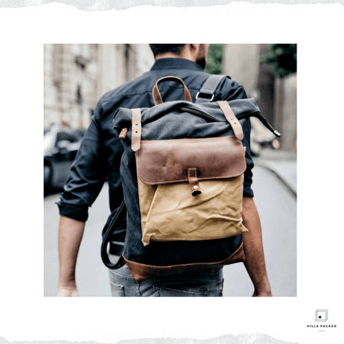 MUCHUAN Luxury Vintage Waterproof Backpacks