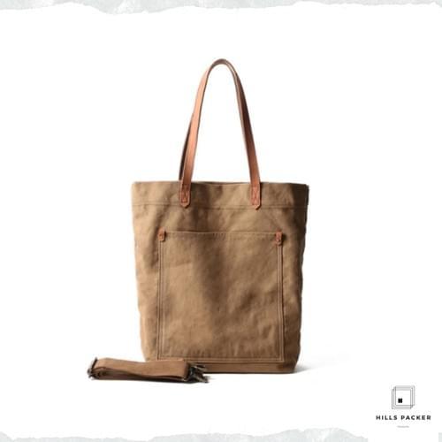 YIFANGZHE vintage large canvas bag