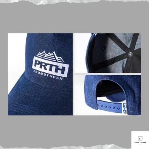 PRTH 復古刺繡牛仔棒球帽