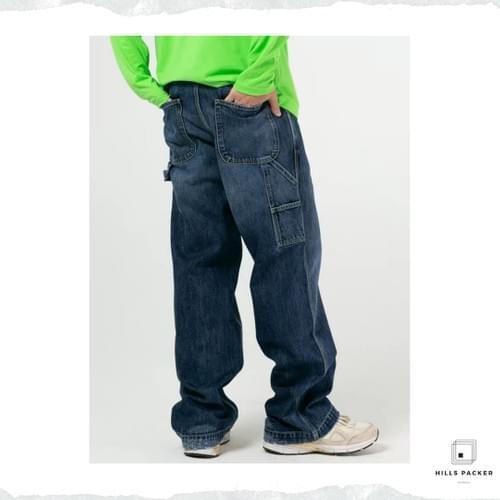 PRTH工裝寬鬆直筒褲