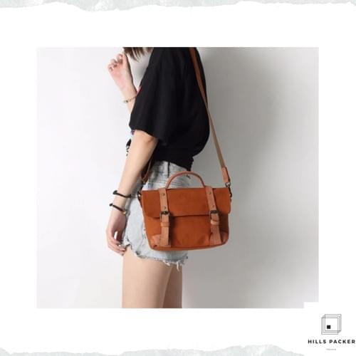 YIFANGZHE high retro cotton canvas messager bag
