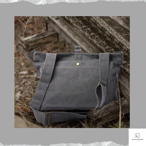 MOYYI high quality canvas shoulder bag