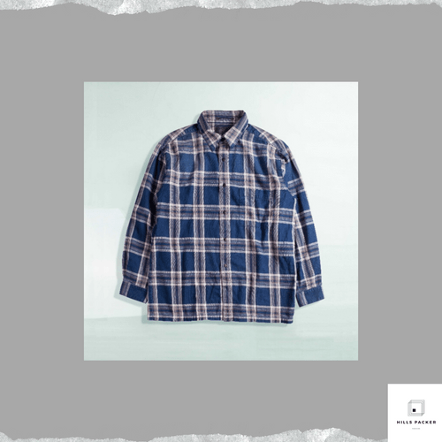 PRTH優閒格仔長袖襯衫