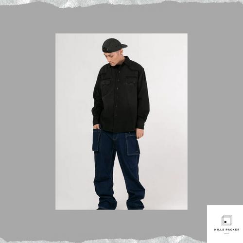 PRTH美式簡約滑雪功能工裝褲