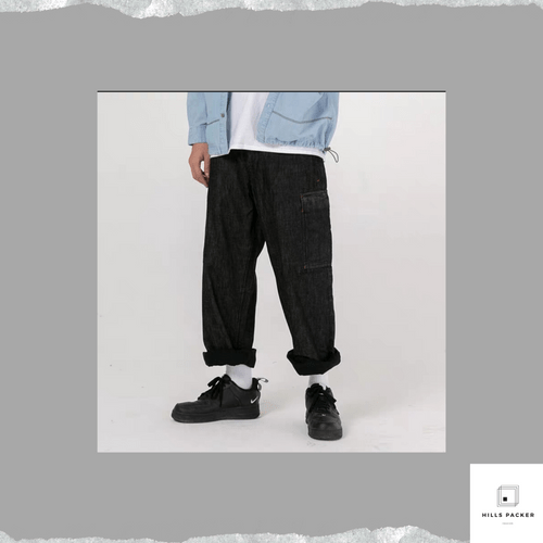 PRTH DIY雙層牛仔褲