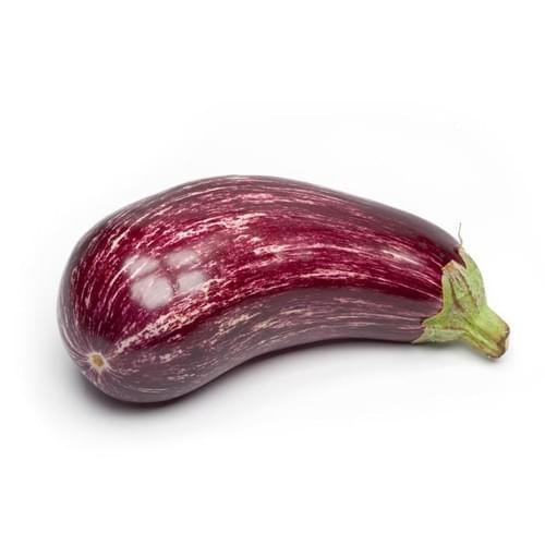 Striped Italian Eggplant