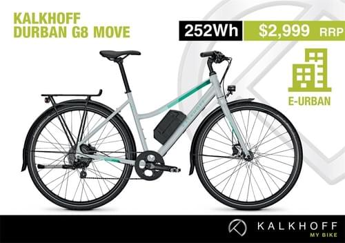 Kalkhoff Durban G8 Move e-bike