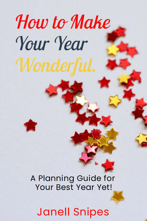 How to Make Your Year Wonderful - E Book