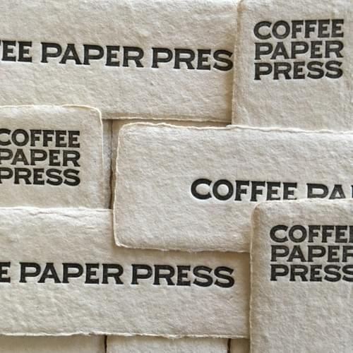 COFFEE PAPER / BOOK MARK
